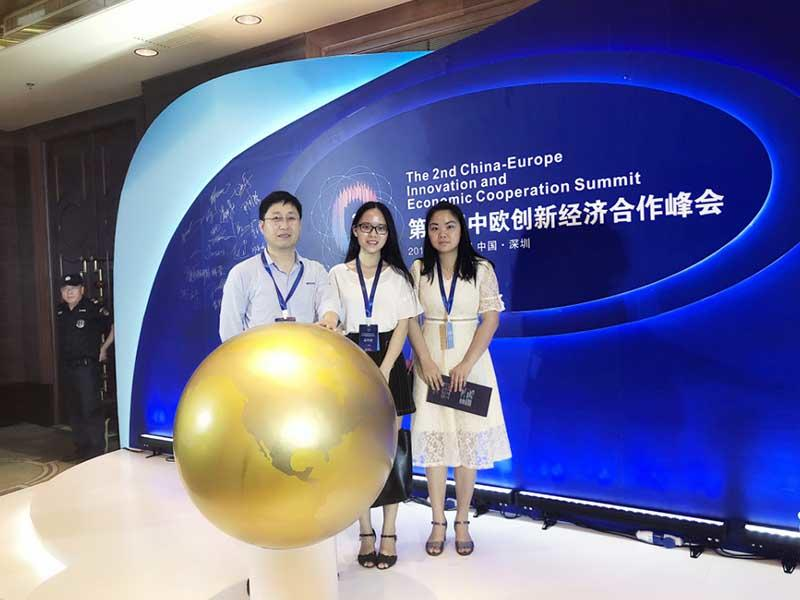 Mings successfully attended the 2nd China - Europe Innovation and Economic Cooperation Summit on May 29, 2018