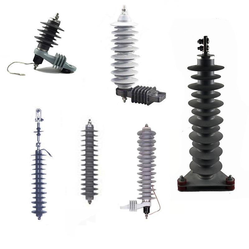 Metal-oxide polymer lightning arrester 3-66KV
