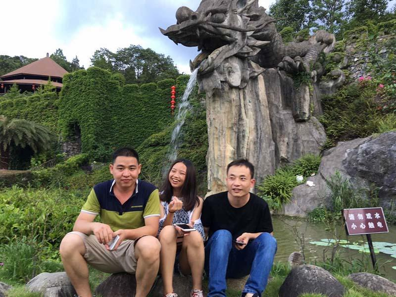 Mings Team Activities-Qingyuan Travel, August 15-16, 2018