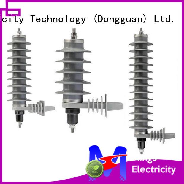 Mings lightning lightning arrester price factory price for electricity distribution
