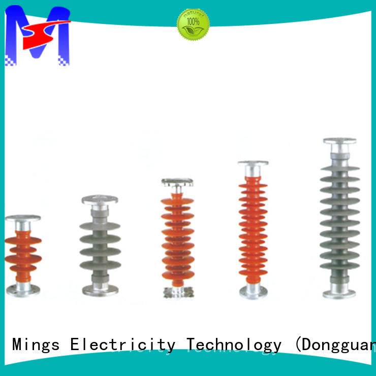 Mings electrical composite line post insulator supplier for telegraph pole