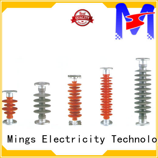 Mings railway silicone rubber insulator online for utility pole