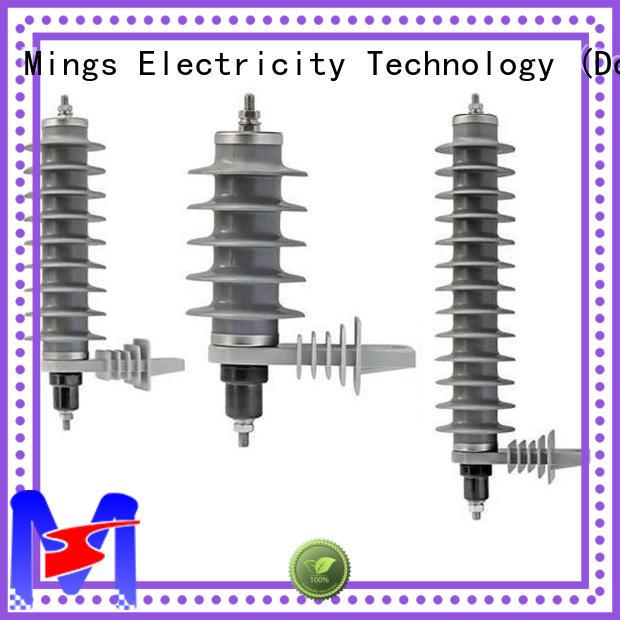 Mings polymer lightning arrester wholesale for power transmission