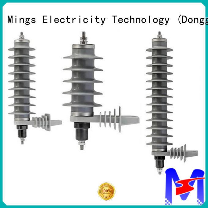 Mings lightning lightning arrester price manufacturer for electricity distribution