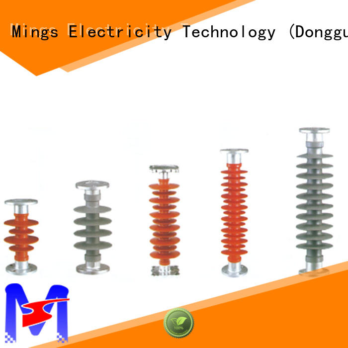 Mings railway composite insulator supplier for Poles