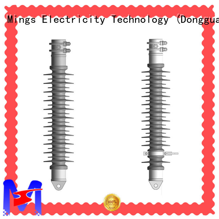 high voltage composite polymer insulator on sale for wire pole Mings