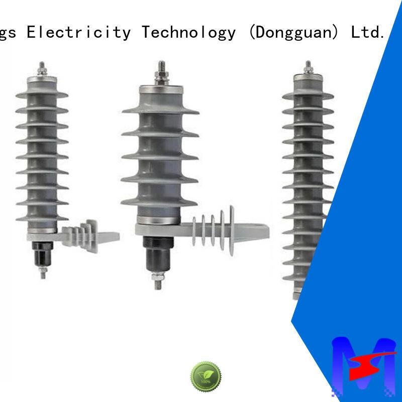 realiable surge arrester 366kv manufacturer for power transmission