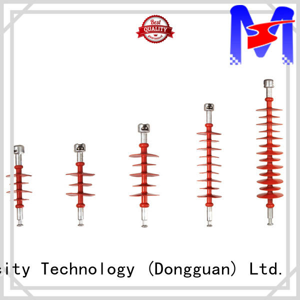Mings electrical suspension type insulator supplier for telegraph pole