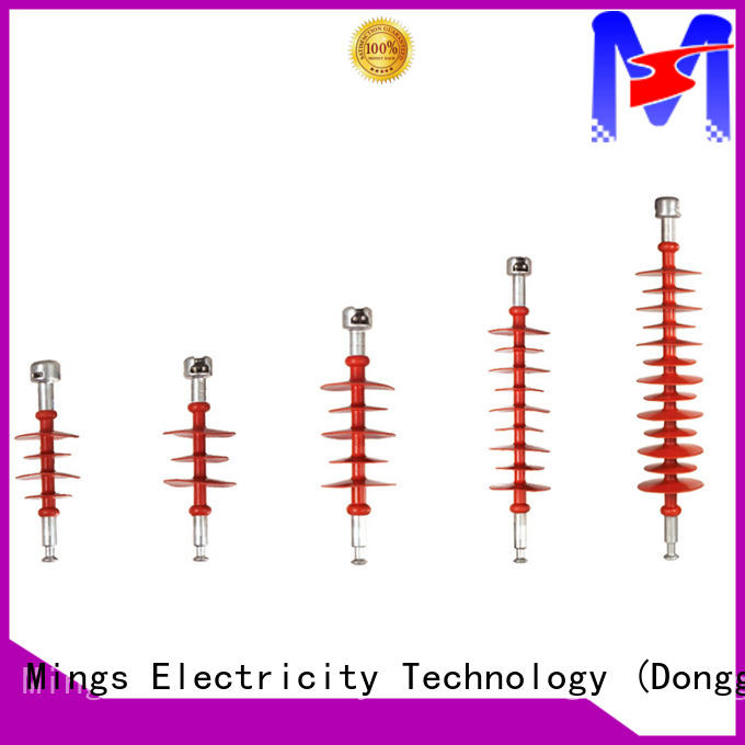 Mings electrical composite line post insulator directly price for telegraph pole