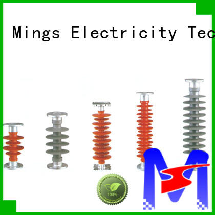 Mings electrical composite suspension insulator 325kv for wire pole