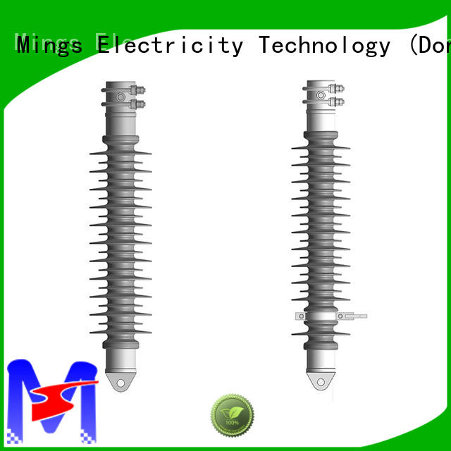 line post insulator composite for utility pole Mings