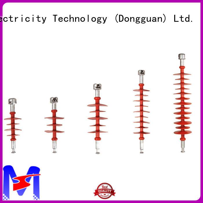 Mings 10220kv composite line post insulator online for utility pole
