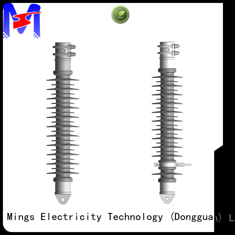 Mings electrical silicone composite insulators on sale for telegraph pole