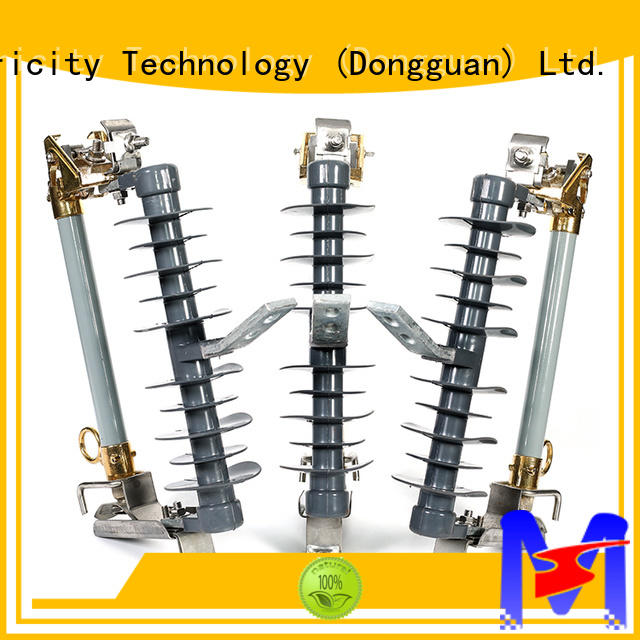 Mings realiable fuse cutout explusion for wire pole