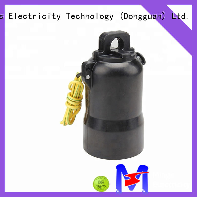 Mings accessories arrester rear connectors factory price for electricity distribution