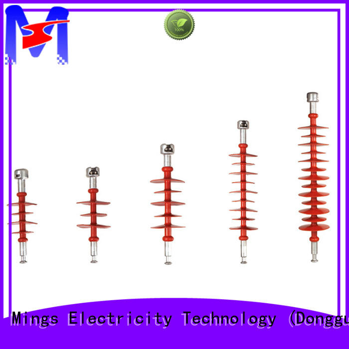 Mings suspension composite insulator supplier for utility pole