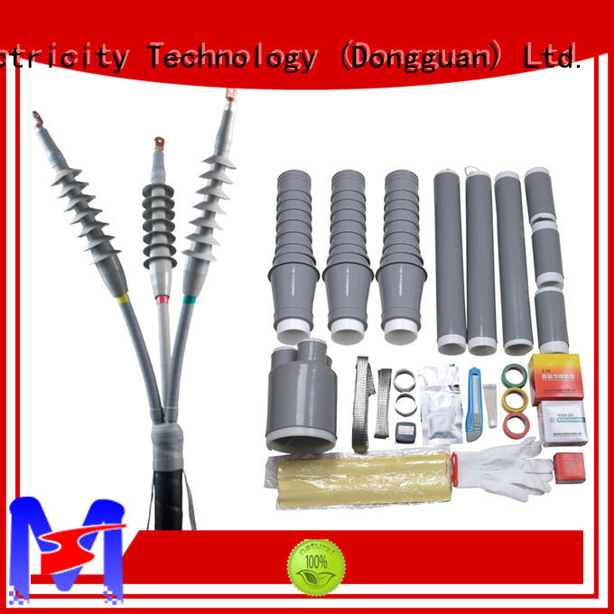 high voltage cold shrinkable termination kits factory price for government sevice Mings