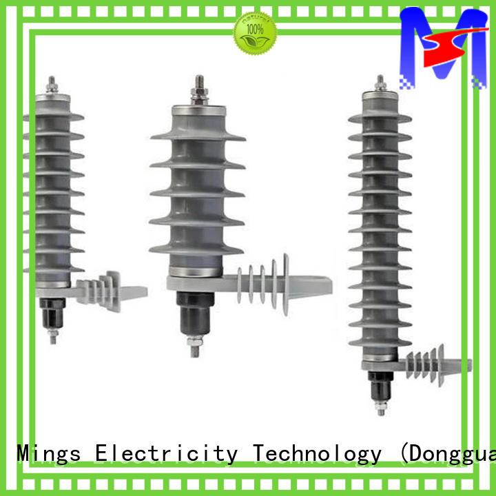 durable lightning surge arrester polymer manufacturer for electricity distribution