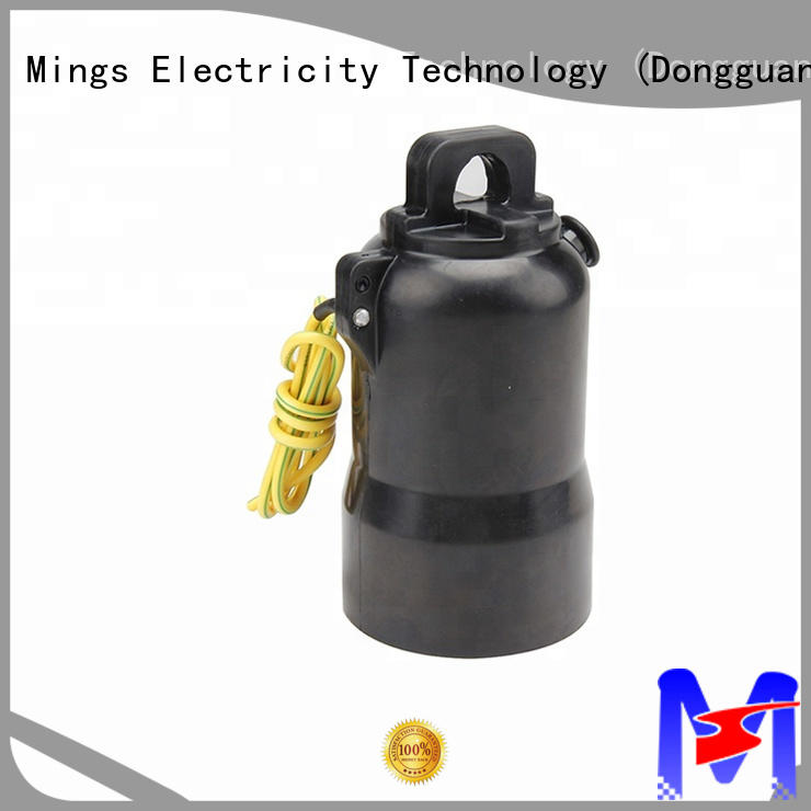 Mings safe insulated end cap online for power transmission