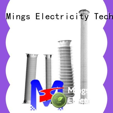 Mings Wholesale high voltage porcelain insulators company for electricity industry