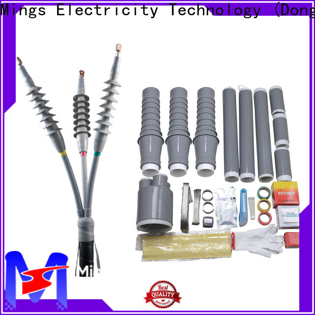 Mings high voltage lightning arrester rear connectors supplier for government sevice
