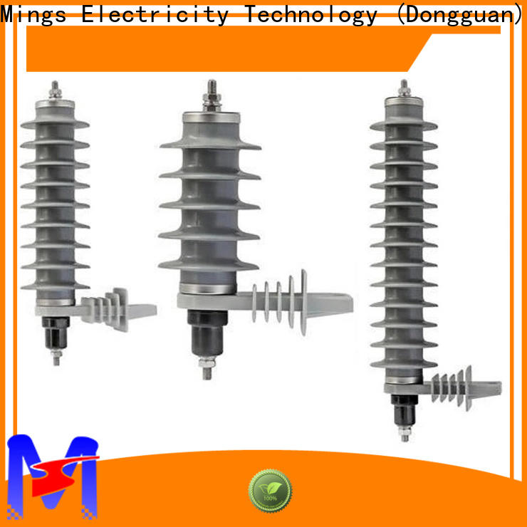 durable lighting arrester price 366kv from China for electricity distribution