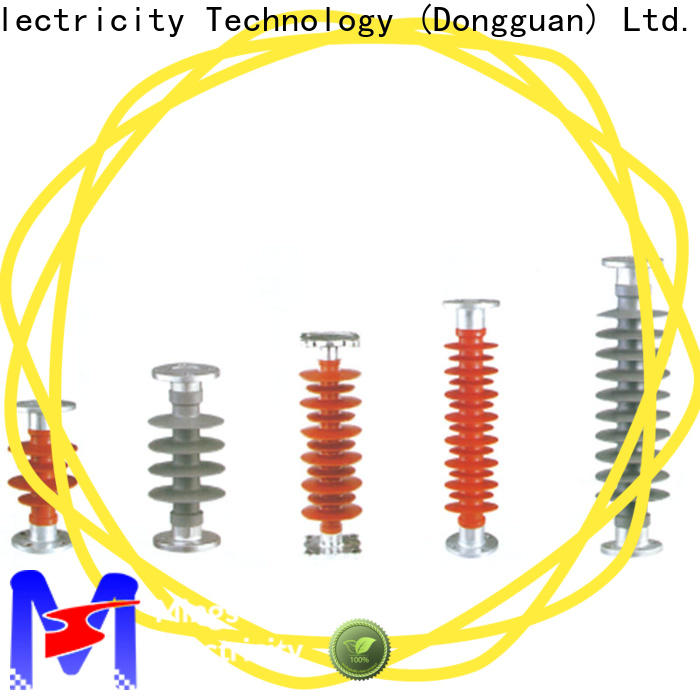 Mings electrical silicone composite insulators directly price for telegraph pole