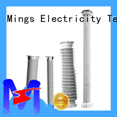 Mings suspension silicone composite insulators online for wire pole