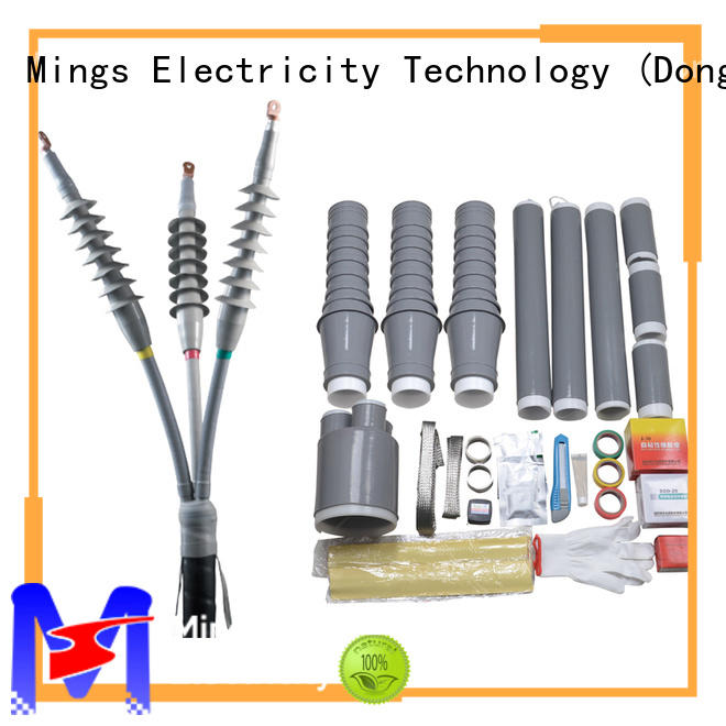 Mings high voltage cable jointing kit supplier for communal facilities