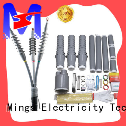 high voltage insulated end cap tee on sale for electricity distribution