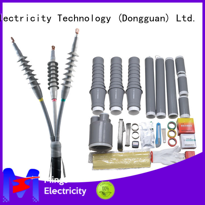 Mings high voltage cable jointing kit supplier for power transmission